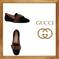 ★★★GUCCI《グッチ》 WEB DETAIL LOAFER   送料込★★★