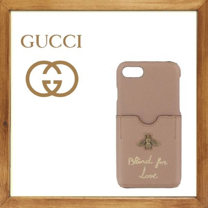 ★GUCCI《グッチ》 iPhone7 BLIND FOR LOVE COVER  送料込み★