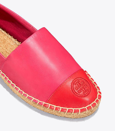 Tory Burch フラットシューズ セール 新作 Tory Burch COLOR BLOCK FLAT ESPADRILLE(12)