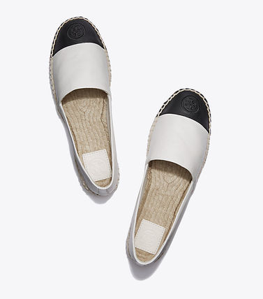 Tory Burch フラットシューズ セール 新作 Tory Burch COLOR BLOCK FLAT ESPADRILLE(5)