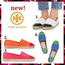 セール 新作 Tory Burch COLOR BLOCK FLAT ESPADRILLE