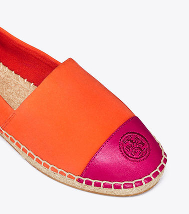 Tory Burch フラットシューズ セール 新作 Tory Burch COLOR BLOCK FLAT ESPADRILLE(8)