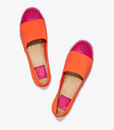 Tory Burch フラットシューズ セール 新作 Tory Burch COLOR BLOCK FLAT ESPADRILLE(10)