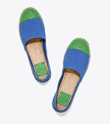 Tory Burch フラットシューズ セール 新作 Tory Burch COLOR BLOCK FLAT ESPADRILLE(18)