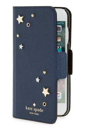 Star applique iPhone 7/8 & 7/8 Plus folio case