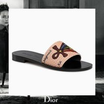 "☆18Cruise☆ Christian Dior ""JUDGEMENT"" ファブリックミュール"