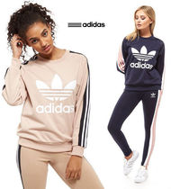 海外限定!!◆adidas◆Originals 3-Stripe Panel Crewスウェット