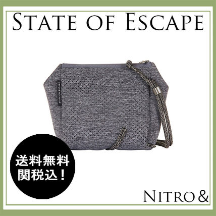 State of Escape オシャレなGrey(グレー) 新作ボディバッグ