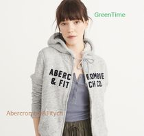 ◇Abercrombie&Fitch◇ジップアップパーカー◇グレ-◇送料税込◇