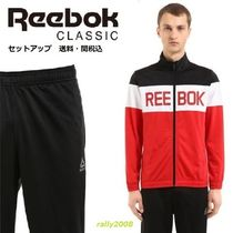 """REEBOK CLASSICS""ELEMENTS NYLON TRACKSUIT RED セットアップ♪"