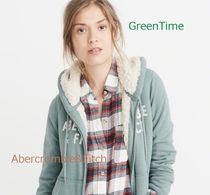 ◇Abercrombie&Fitch◇ジップアップパーカー◇緑系◇送料税込◇