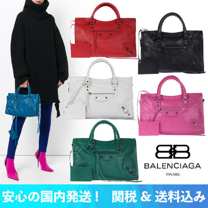 【安心の関税込】2018SS BALENCIAGA・Classic City S bag
