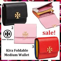 セール 新作 Tory Burch ミニ財布 Kira Foldable Medium Wallet