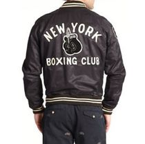 送料込み★Polo Ralph Lauren New York Boxing Varsity Jacket