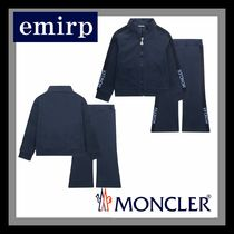 18SS☆MONCLER★KIDS☆ロゴ上下セットアップ★4-6Y★