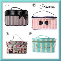 claire's(クレアーズ) メイクポーチ 日本未入荷★claire's(クレアーズ)パリをイメージした化粧ポーチ