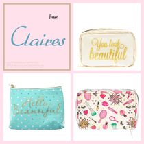claire's(クレアーズ) メイクポーチ 日本未入荷★claire'sクレアーズ★可愛いデザイン化粧ポーチ