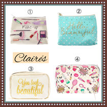 claire's(クレアーズ) メイクポーチ 日本未入荷★claire's(クレアーズ)★選べる可愛い化粧ポーチ