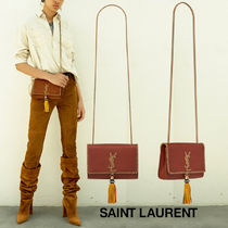 【送料込】18SS★SAINT LAURENT★SATCHEL KATE YSL刺繍 バッグ