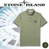 Sporty◆STONE ISLAND◆New ストレッチコットンピケ ポロシャツ