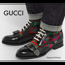 LOOK51◇Queercore ブローグ ブーツ◇GUCCI