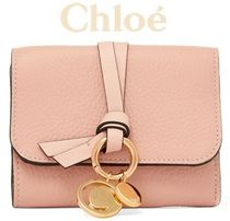 ★関税負担★CHLOE★EMBELLISHED TEXTURED-LEATHER WALLET