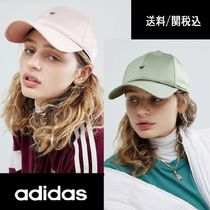【adidas】Originals Satin Cap Trefoilロゴ サテン キャップ ♪
