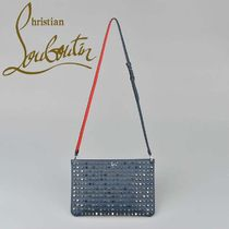 ☆Christian Louboutin☆Loubi 2Way Clutch Bag