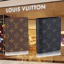 【Louis Vuitton】モノグラム クーヴェルテュール パスポール NM