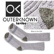 Made in USA!!大人気Outerknown!!★キャンプソックス -Grey Marl