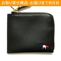 【国内在庫有】MAISON KITSUNE TRICOLOR FOX COIN PURSE / 財布