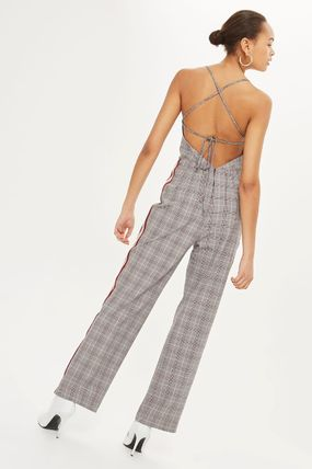 TOPSHOP オールインワン・サロペット 《スポーティー&チェック♪》☆TOPSHOP☆Checked Jumpsuit(5)