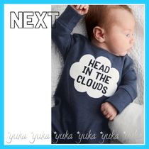 NEXT☆50-90㎝  ネイビー★Head In The Clouds 長袖 ロンパース