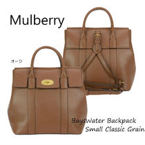 18SS★Mulberry Small Bayswater Backpack Oak CG 関税/送料込