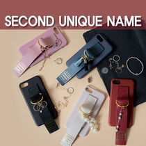 【SECOND UNIQUE NAME】Leather Edition /iPhone ★BEST★