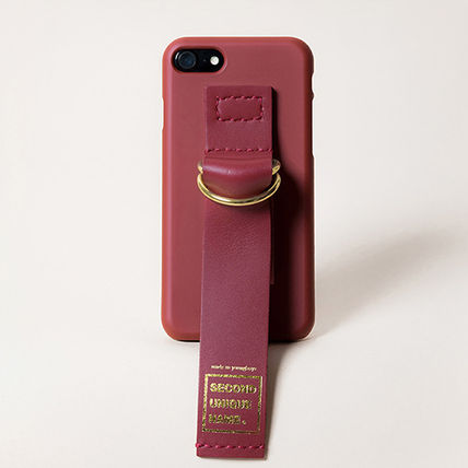 SECOND UNIQUE NAME スマホケース・テックアクセサリー 【SECOND UNIQUE NAME】Leather Edition /iPhone ★BEST★(8)