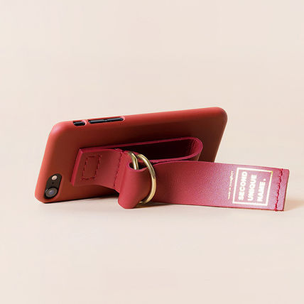 SECOND UNIQUE NAME スマホケース・テックアクセサリー 【SECOND UNIQUE NAME】Leather Edition /iPhone ★BEST★(9)