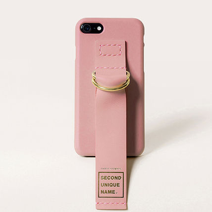SECOND UNIQUE NAME スマホケース・テックアクセサリー 【SECOND UNIQUE NAME】Leather Edition /iPhone ★BEST★(10)