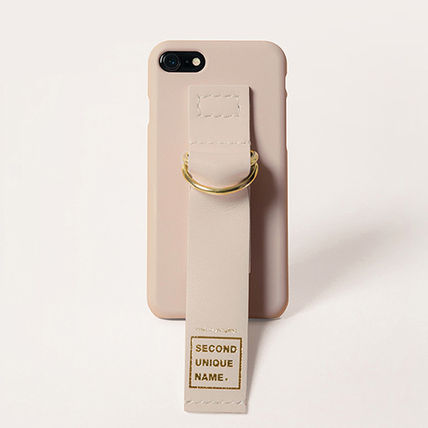 SECOND UNIQUE NAME スマホケース・テックアクセサリー 【SECOND UNIQUE NAME】Leather Edition /iPhone ★BEST★(12)