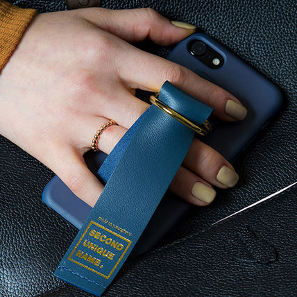 SECOND UNIQUE NAME スマホケース・テックアクセサリー 【SECOND UNIQUE NAME】Leather Edition /iPhone ★BEST★(15)