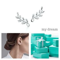 【Tiffany & Co】Paloma Picasso Olive Leaf Climber Earrings
