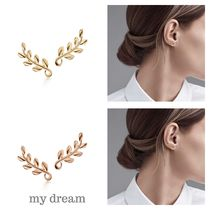 【Tiffany】Paloma Olive Leaf Climber Earrings in 18k Gold