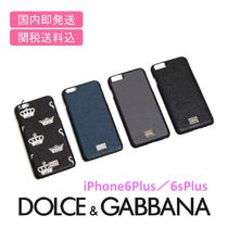 ◆国内即発送◆DOLCE&GABBANA♪iPhone 6 plus/6S plusケース
