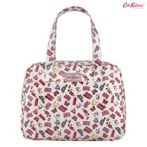 Cath Kidston★LARGE BOXY BAG O/C LONDON STAMPS STONE