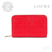 LOEWE★ロエベ Zip Card Holder Primary Red