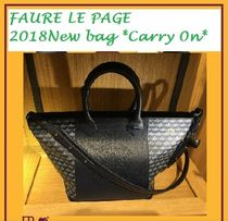 Faure Le Page(フォレ・ル・パージュ) トートバッグ Faure Le Page フォーレルパージュ 2018ニュ―バッグ CARRY ON