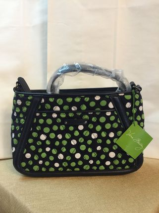 Vera Bradley ボストンバッグ Trimmed Trapeze Crossbody