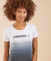 *Gymshark* Ombre T-shirt グラデーション ロゴTシャツ
