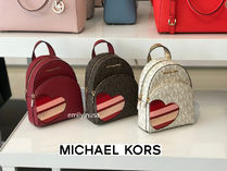 Valentine限定☆Michael Kors★ABBEY XS BACKPACK ロゴ*3way利用