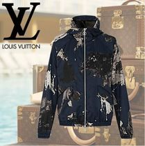 数量限定 VUITTON ヴィトン SPLASH PACKABLE WINDBREAKER